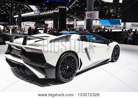 2015 Lamborghini Aventador SV Roadster