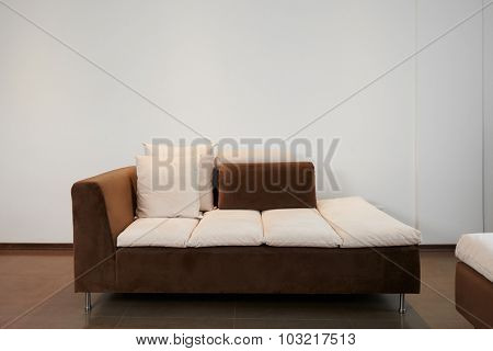 Interior design: Modern couch