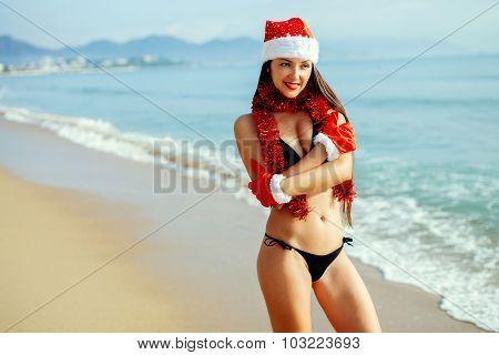 Christmas Holiday On The Beach