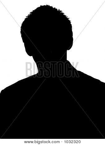 Black And White Shadow Boy