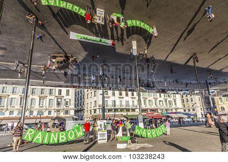 Greenpeace Organisation Protests Against Murder Of Fernando Pereira