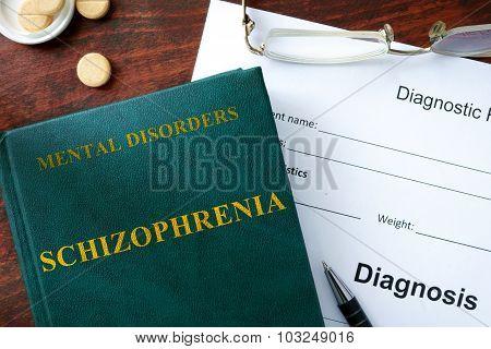 Schizophrenia concept.
