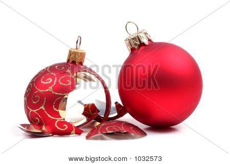 Broken Christmas Ball