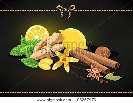 Confectionary spices