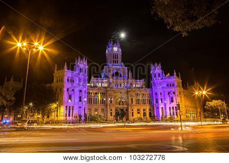 Cibeles Palace In Madrid