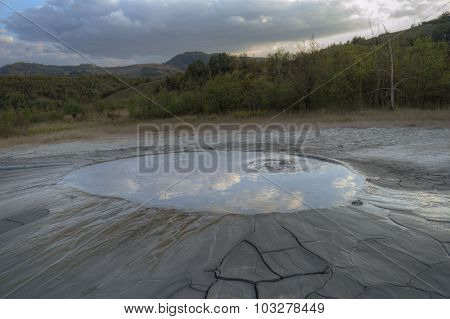 Reflecting Volcano