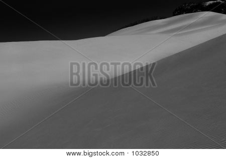 fine art image of sand dunes oceana california poster