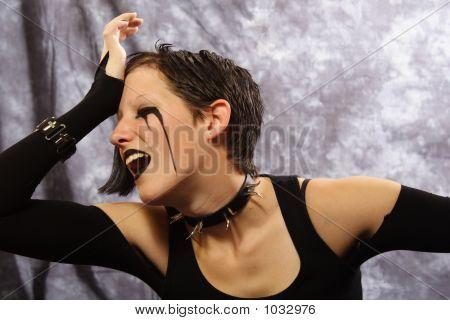 Grief-Stricken Goth Girl
