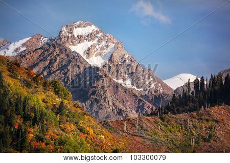 Autumn Mountains