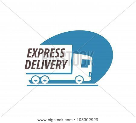 trucking vector logo design template. truck or delivery icon