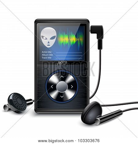 Mp3 Player With Earbuds