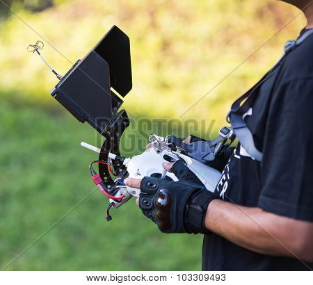 Remote Control A Helicopter Crone.