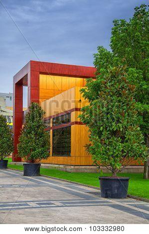 Modern Building In Iasi