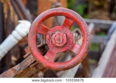 throttle of plough