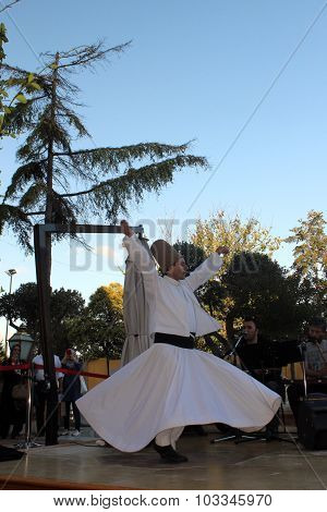 The dance Whirling Dervishes is called Sema