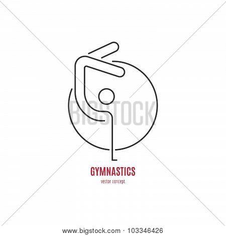 Gymnast Logo