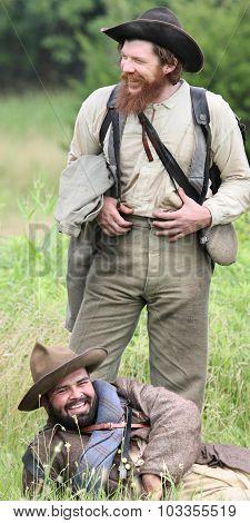 Laughing Confederates