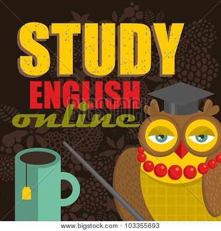 Learn english concept.