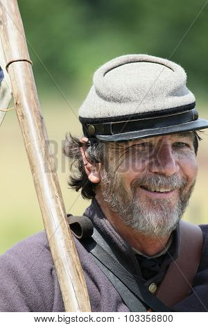 Smiling Confederate