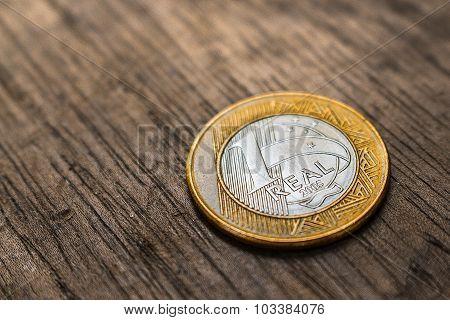 Brazilian Real Coin