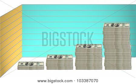 100 Dollar Bill - Graph