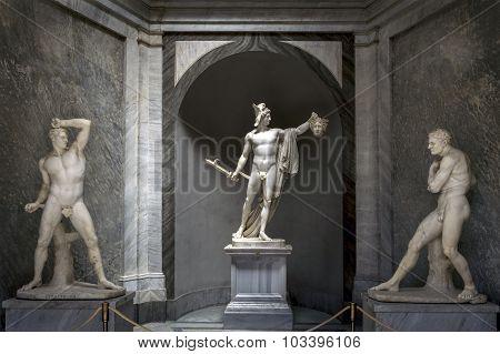 Perseus Triumphant By Antonio Canova