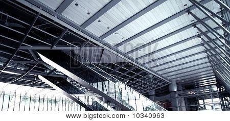 Public Plaza Escalators