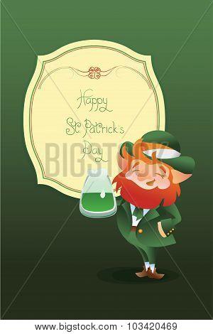 Happy Saint Patrick Day gratters Leprechaun