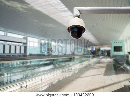 Security Camera Watching All Zones
