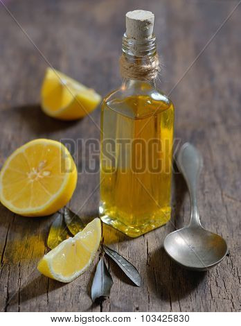 Liver Detox With Olive Oil And  Lemon Fruits