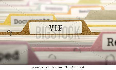 VIP on Business Folder in Catalog.