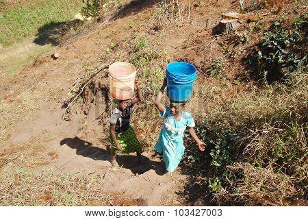 The Precious Water In The Region Of Kilolo, Tanzania Africa 35