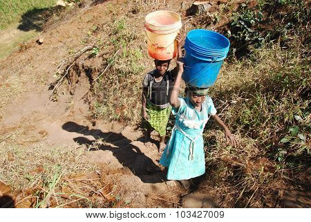 The Precious Water In The Region Of Kilolo, Tanzania Africa 37