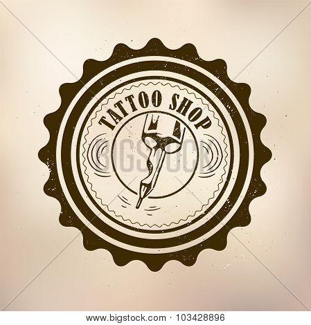 retro style tattoo shop