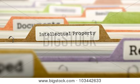 Intellectual Property - Folder Name in Directory.
