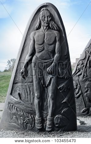 Historic Cast Iron Sculptures Of Gaspe