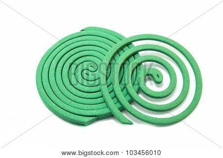 Mosquito Repellents On White Background