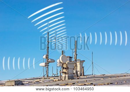 Electric Smog - Antenna Radiation