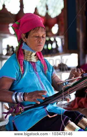 Padaung Tribal Woman, Myanmar