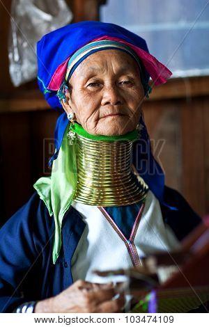 Padaung Woman, Myanmar