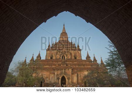 Asia Myanmar Bagan Temple That Byin Nyu