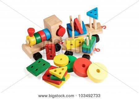 Children Wooden Train Parsed