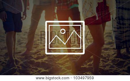 Photo Picture Album Pics Gallery Concept