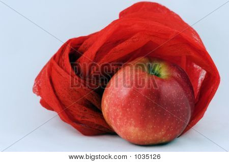 poster of tasty apple always with pleasure we eat is excellent snack on every opportunity