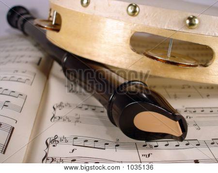 Flute And Tambourine