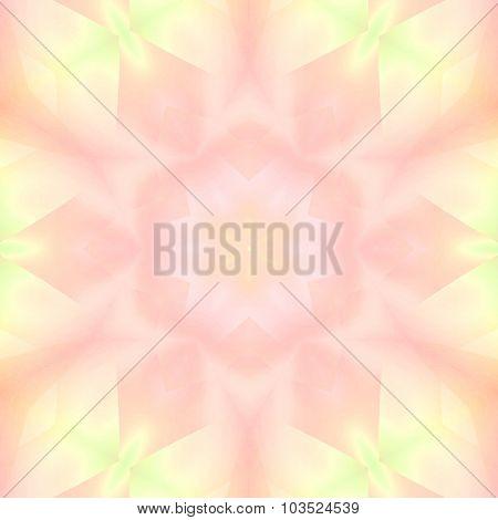 Seamless floral pattern pastel pink green