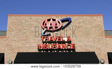Aaa Travel & Insurance Sign