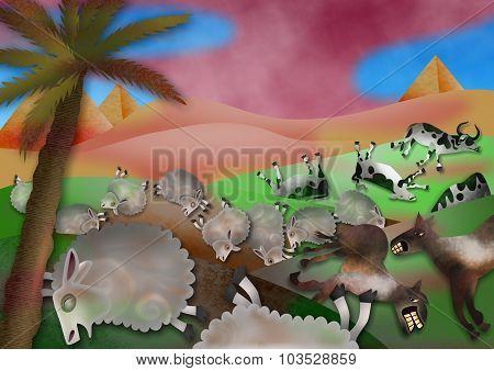 The Plague of Livestock