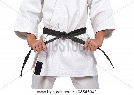 Boy With Black Belt