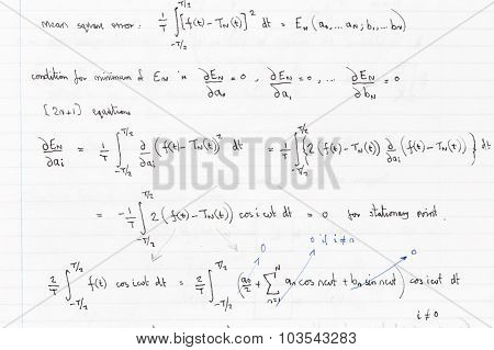 Mathematics Equations